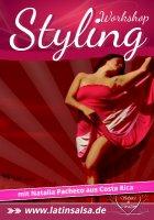 Flyer Salsa LadyStyling Workshop für Anfänger - Köln