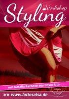 Flyer Salsa Ladystyling Hüft- und Bein Special