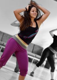 Natalia Pacheco Morales - lateinamerikanische Tanzlehrerin aus Costa Rica für Salsa, Zumba, Bachata, Reggaeton, Styling, Merengue, Bolero (Foto: Jürgen Appel, inkandfeather.de)