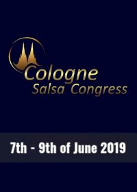 Cologne Salsa Congress 2o19 - Flyer