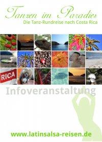 Flyer - Informationen zur Tanzreise nach Costa Rica