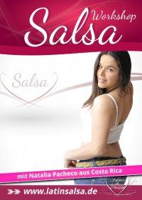 Flyer - Salsa Anfänger mit Vorkenntnissen 1 Workshop - Köln / Juli