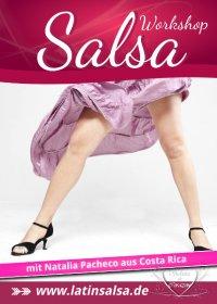Flyer - Salsa Anfänger mit Vorkenntnissen 1 Workshop - Köln / Oktober